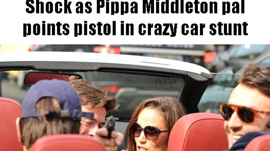 Pippa Middleton : Arthur de Soultrait s'excuse pour le revolver
