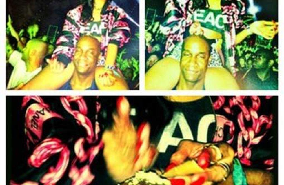 Rihanna : Elle se drogue à Coachella ! (Photos)