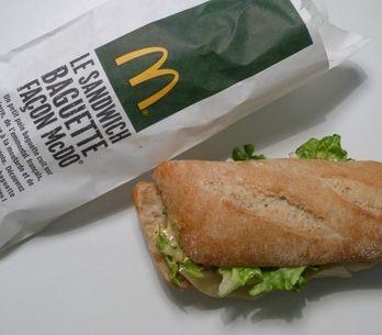 McBaguette : On a testé le nouveau sandwich de McDonald's ! (Photos)