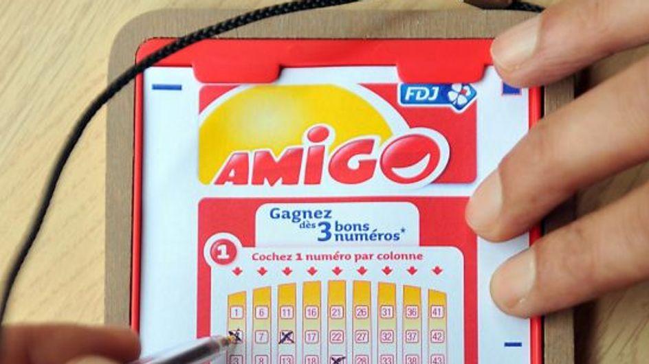 Insolite : Deux amis se disputent un ticket gagnant d'Amigo à 1 million !