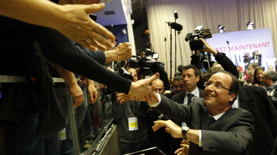 Présidentielle 2012 : Les temps forts du premier tour (Photos)