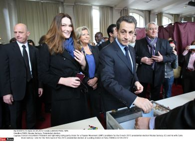 Nicolas Sarkozy carla bruni 22 avril