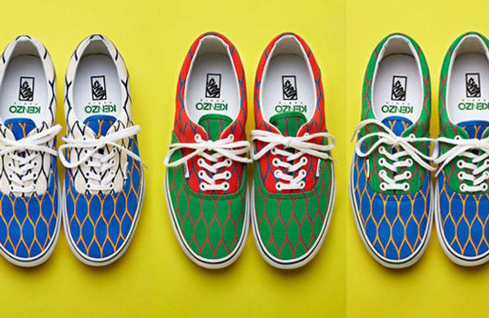 Vans : La marque de skate s'associe à Kenzo
