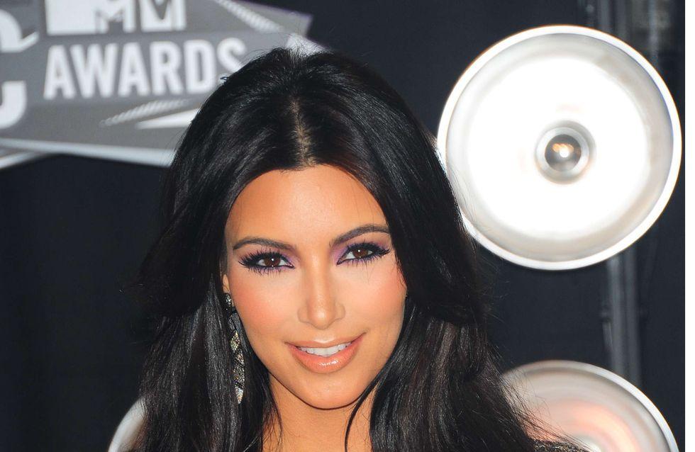 Kim Kardashian : Le secret de sa belle peau (Photos)