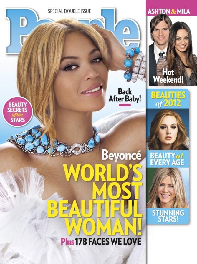 Beyoncé femme la plus belle du monde