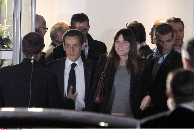 Carla Bruni-Sarkozy Nicolas Sarkozy débat