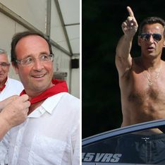 Hollande vs Sarkozy : Le match des vacances (Photos)