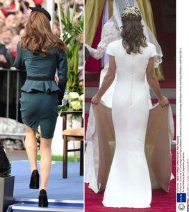 Kate Middleton : Elle a de plus belles fesses que sa soeur !