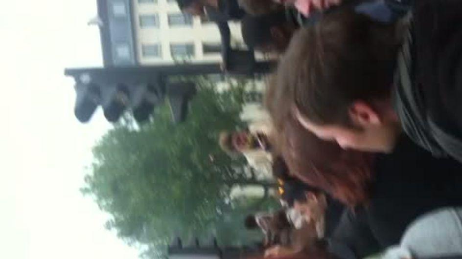 Présidentielle 2012 : Ambiance de feu à Bastille (Vidéo)