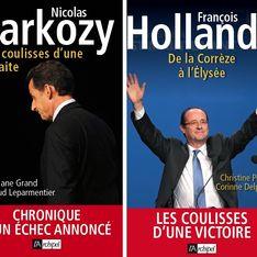 Hollande vs Sarkozy : Deux livres qui tombent à pic ! (Photos)