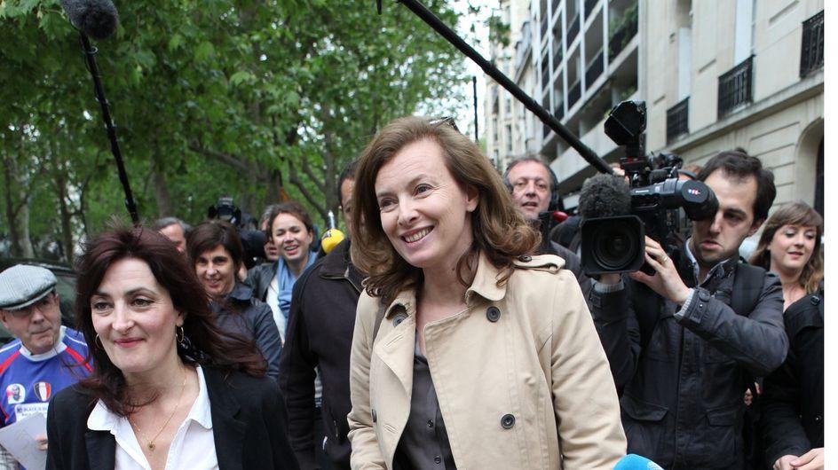 Valérie Trierweiler : Première sortie pour la première dame ! (Photos)