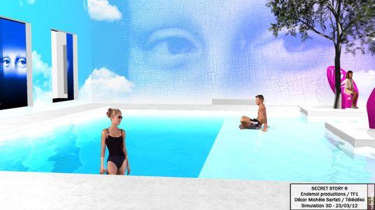 Secret Story 6 piscine