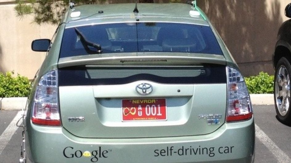 Google Car : La première voiture sans chauffeur !