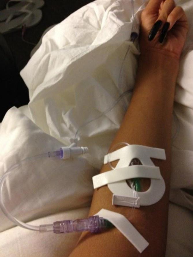 Rihanna hôpital