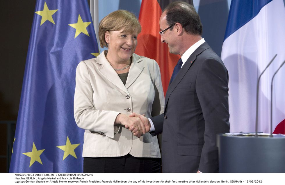 Hollande-Merkel : Pas de coups de tonnerre