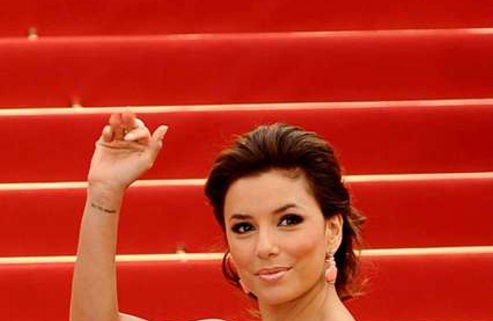 Eva Longoria : Ses trucs pour être sexy sur le tapis rouge à Cannes