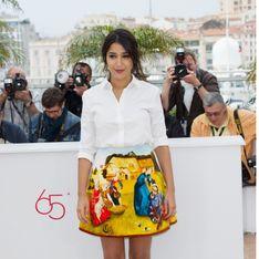 Festival de Cannes : Le look renversant de Leila Bekhti en Carven (Photos)