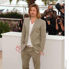 Festival de Cannes : Le canonissime Brad Pitt est arrivé ! (Photos)