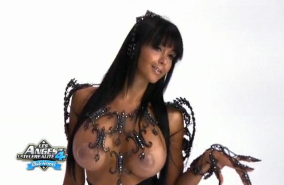 Les Anges de la Télé Réalité : Nabila pose (presque) nue ! (Vidéo)