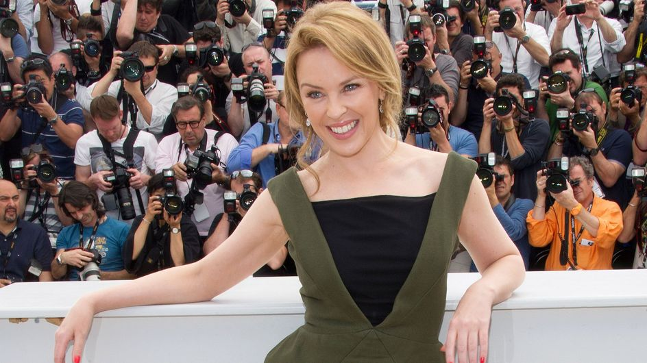 Festival de Cannes : Kylie Minogue, sexy en Pucci (Photos)