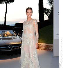 Festival de Cannes : La robe blanche, touche glamour des people ! (Photos)