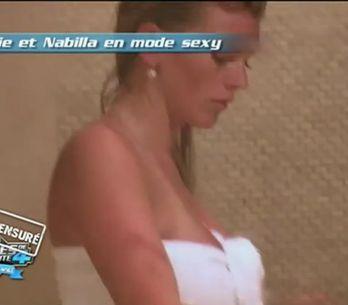 Les Anges de la Télé Réalité : Nabila et Amélie nues sous la douche (vidéo)