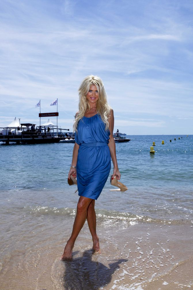 Victoria Silvstedt, cannes