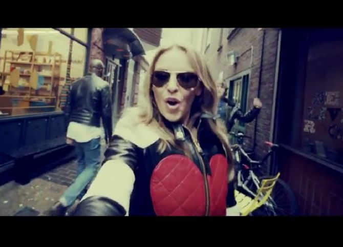 kylie minogue, clip, timebomb