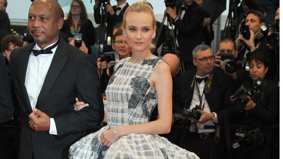 Festival de Cannes : Diane Kruger en beauté à la cérémonie de clôture ! (Photos)