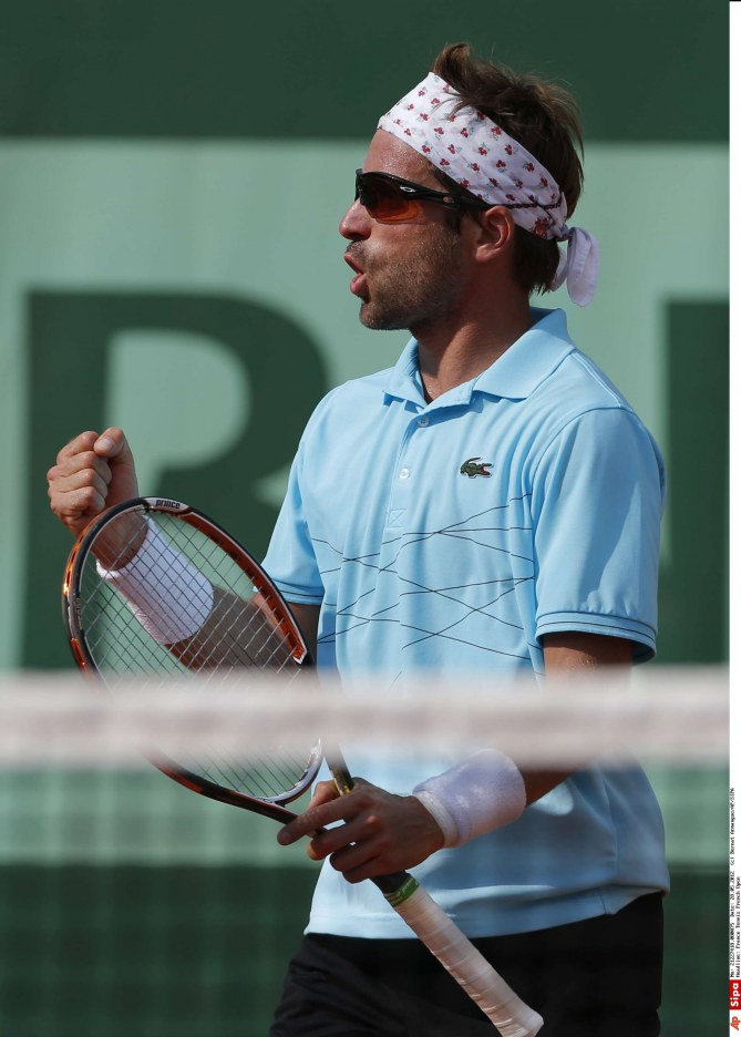 Arnaud Clément Roland Garros