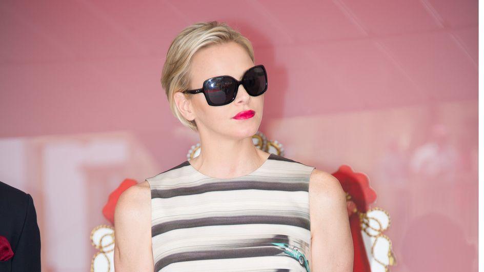 Charlène de Monaco : Une robe étonnante au Grand Prix de Monaco ! (Photos)