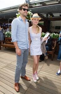 Diane Kruger et Joshua Jackson roland garros