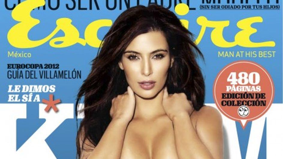Kim Kardashian : Tous seins dehors pour Esquire (Photos)