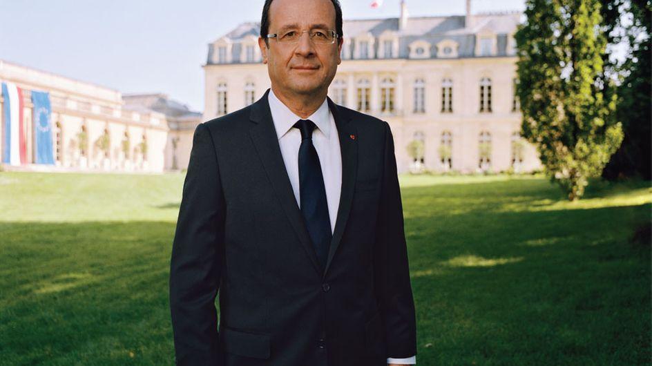 François Hollande : Son portrait officiel déjà détourné ! (Photos)