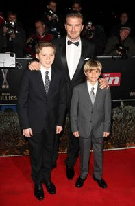 David Beckham fils