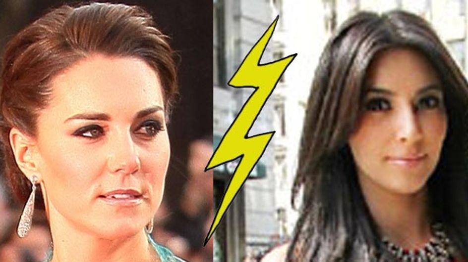 Kim Kardashian : Kate Middleton copie son look ! (Photos)