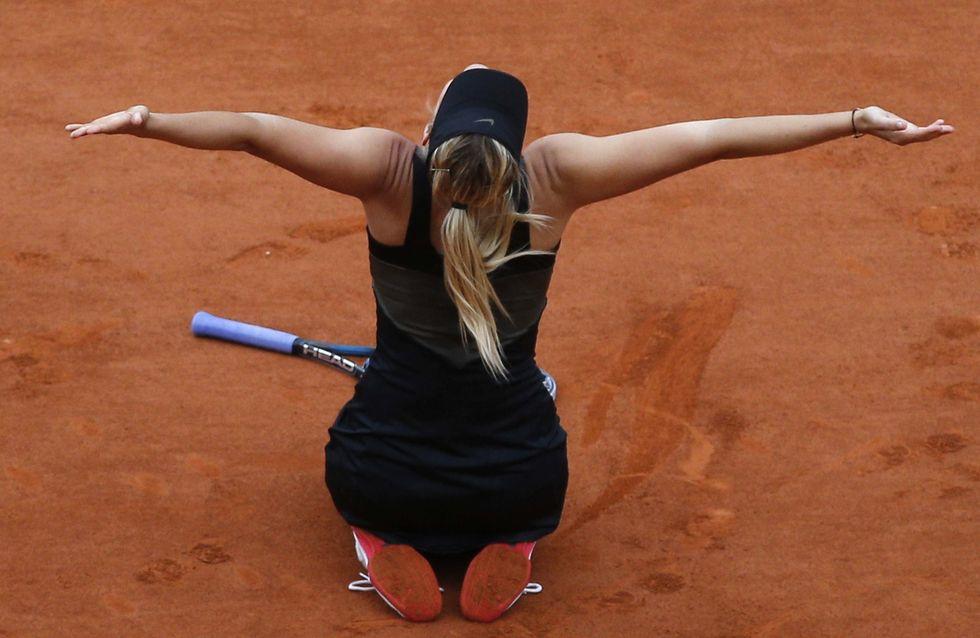 Maria Sharapova : Elle remporte son premier Roland Garros !