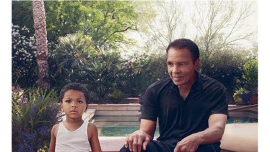Louis Vuitton : Mohamed Ali, égérie de leur nouvelle campagne (Photos)