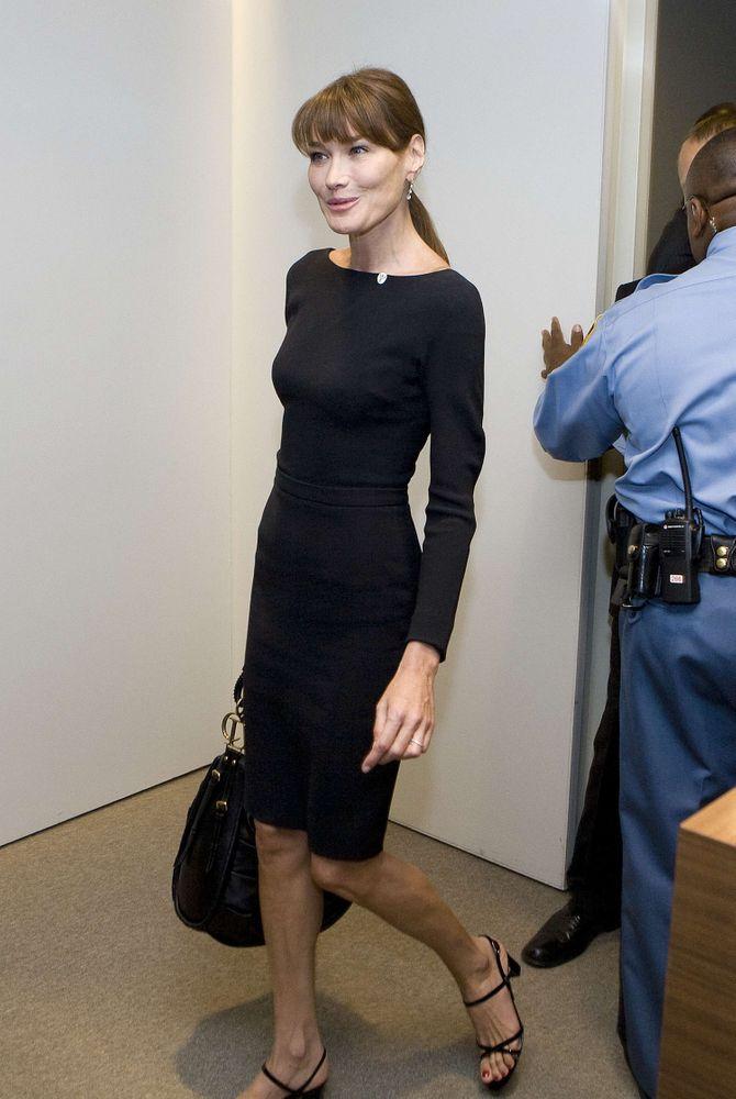 Carla Bruni, poids,  régime