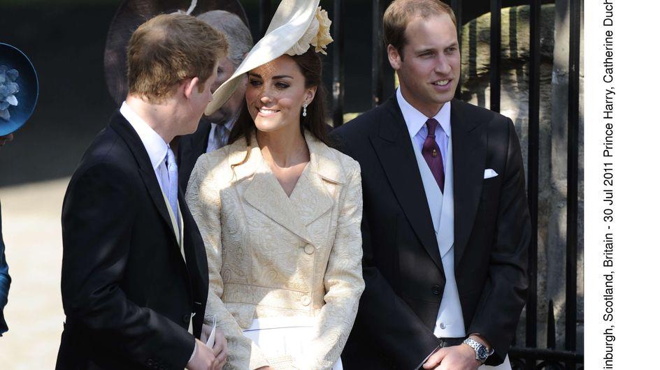Kate Middleton : Triangle amoureux avec William et Harry !