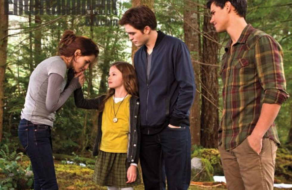 Twilight 5 : Renesmée, les premiers clichés très attendus (Photos)