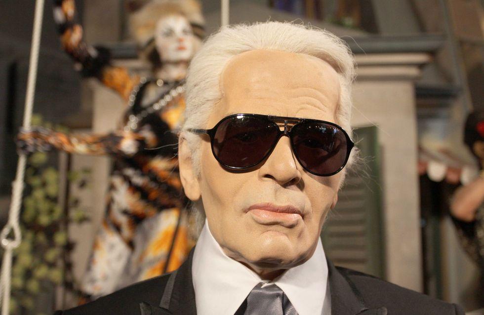 Karl Lagerfeld : Il crée une collection de make-up pour Shu Uemura