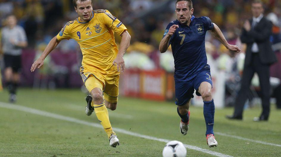 Euro 2012 : Les bleus font le show contre l'Ukraine avec 2-0 !