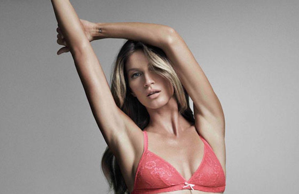 Gisele Bündchen : Elle devient égérie de sa propre marque de lingerie (Photos)