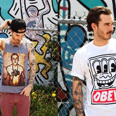 Urban Outfitters : Une ligne OBEY X Keith Haring en exclu ! (Photos)