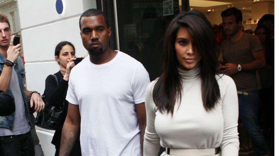 Kim Kardashian et Kanye West : Leurs looks de couple (Photos)