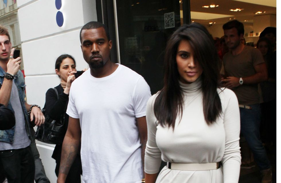 Kim Kardashian et Kanye West : Leurs looks de couple (Photos)