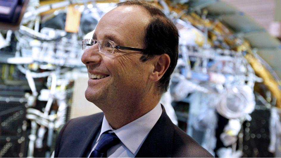 François Hollande : Le Président normal fait du traîneau (Vidéo)