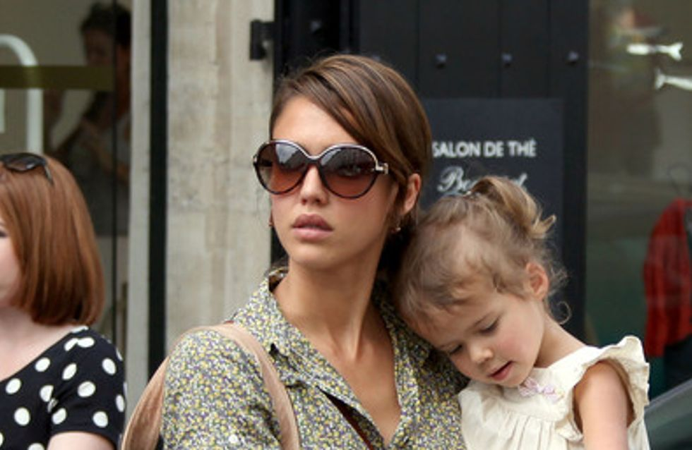 Jessica Alba : Sa fille déjà à la pointe de la mode ! (Photos)