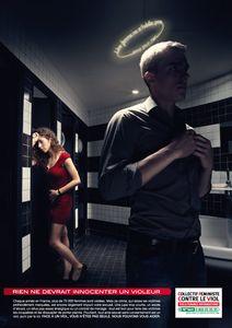 Campagne de pub contre le viol